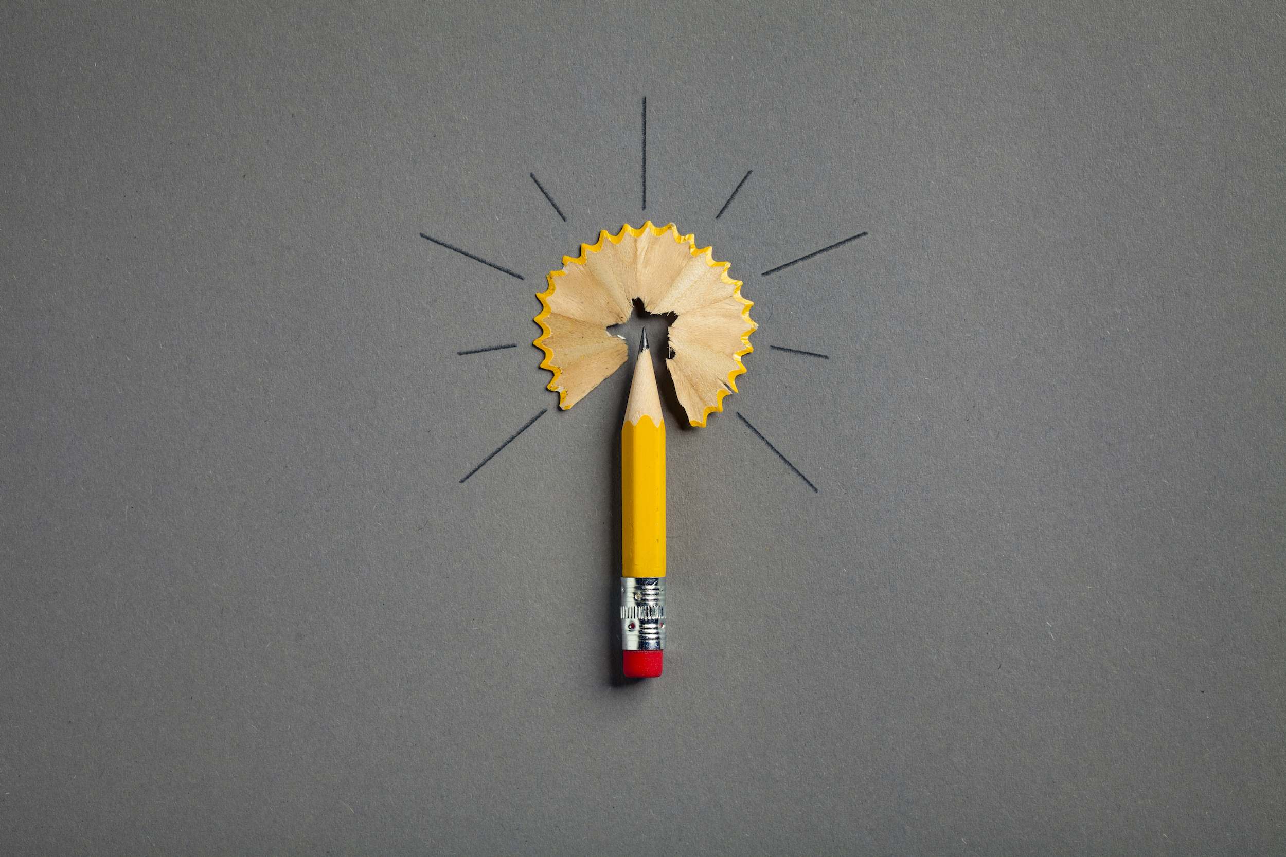 Yellow Pencil Connecting the Dots
